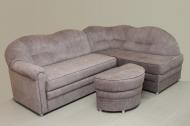 Лагуна, угловой диван в ткани кортекс ява