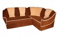 Лидия, угловой диван в ткани Томас 97 и Томас 12