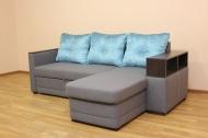 Лира, диван в ткани лисса 111 и спайс грей