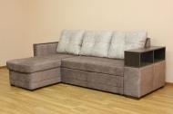 Лира, угловой диван в ткани кортекс ява и кортекс беж