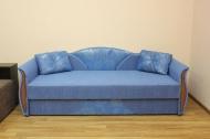 Любава, диван в ткани кафу голубой