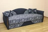 Любава, диван в ткани сабрина и артемик блек