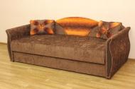 Любава в ткани пуффи оранж и лисса 136 - 1