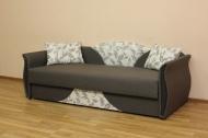 Любава, диван в ткани шенил 1376 и однотон