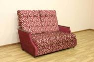 Малютка, диван в ткани зодиак бордо