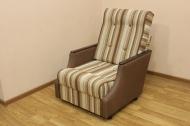 Малютка кресло в ткани макс браун и крокус 10 - 1