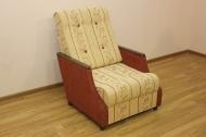 Малютка кресло в ткани юпитер терра и однотон