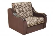 Марта 0,6, кресло-кровать в ткани маура беж и однотон