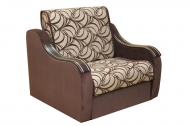 Марта 0,8, кресло-кровать в ткани маура беж и однотон
