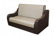 Марта 1,4, диван в ткани калифорния 70 и натуре шоко 371