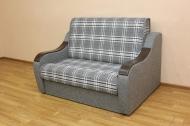Марта 1,4, диван в ткани шотландия грей и однотон
