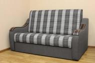 Марта 1,6, диван в ткани шотландия грей и однотон