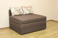 Микс 1,6, кровать в ткани саванна люкс браун и фелисия браун
