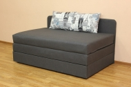 Микс 160, диван в ткани принт 002 и артемик грей