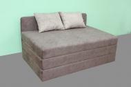 Микс 160, кровать-диван в ткани кортекс ява и кортекс беж