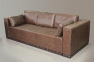 Милан, диван в ткани фортуна тобако