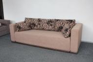Милан, диван в ткани саванна флок голд браун и саванна голд браун - ПОД ЗАКАЗ В ТЕЧЕНИИ 3-Х НЕДЕЛЬ -