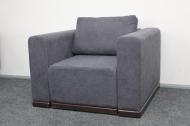 Милан, кресло в ткани мисти дк грей