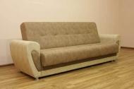 Мишель, диван в ткани альфа кэмел и карамель