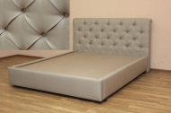 Моника Б180, кровать в ткани дакота 10