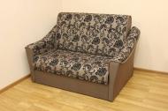 Натали 1,2, диван в ткани нео флок капучино и нео кофе