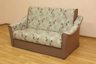 Натали 140, диван в ткани шенил 6004а-9 голд и однотон