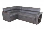 Николь, угловой диван в ткани фортуна грей