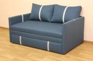Орфей, диван в ткани артемик 15 турквайс и кристал беж