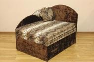 Анюта, диван в ткани лео 34 и нагойя шоко <h2>Цена - 2304 грн (<strike> 3732 грн </strike>)</h2>