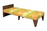 Кровать 08 дсп <h2>Цена - 1092 грн (<strike> 1482 грн </strike>)</h2> Наполнение: пенополиуретан высокой плотности, несущие элементы каркаса выполнены из натурального дерева Механизм трансформации: нет Размеры, см: длина - 198 ширина - 80 спальное место - 190х80