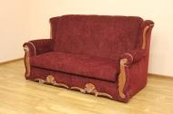 Роксана, диван в ткани непро бордо. <h2>Цена - 5520 грн (<strike> 8526 грн </strike>)</h2>