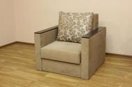 Сафари, кресло кровать в ткани рамона беж и однотон <h2>Цена - 3000 грн (<strike>4926 грн</strike>)</h2>
