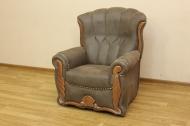 Кресло в ткани морелло шоко -2
