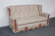 Роксана, диван в ткани амели какао