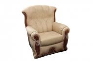 Роксана, кресло в ткани альфа карамель - ПОД ЗАКАЗ В ТЕЧЕНИИ 3-Х НЕДЕЛЬ -