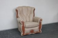 Роксана, кресло в ткани амели какао