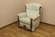 Роксана, кресло в ткани урал 352 и однотон