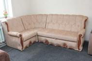 Роксана, угловой диван в ткани шайн