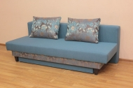 Сандра, диван в ткани жасмин фловерс блу и багама 48 - 1