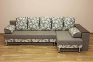 Симфония, угловой диван в ткани 1376-1 и альфа ерз