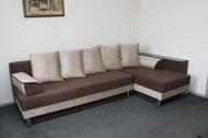 Симфония, угловой диван в ткани париж 01 и мисти шоко