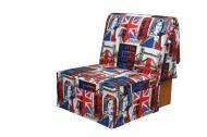 Тихон, кресло-кровать в ткани лонето ингланд