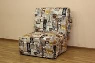 Тихон, кресло-кровать в ткани принт 3