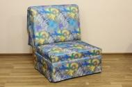 Тихон, кресло-кровать в ткани скейтборд деним