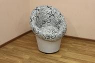 Тюльпан в ткани этро 01 - 1