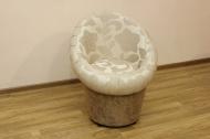 Тюльпан в ткани ренуар фловер крем