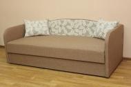 Василек, диван в ткани азалия 476 и однотон