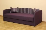 Василек, диван в ткани флекс страйп 05 и флекс 09