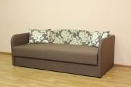 Василек, диван в ткани рива 7816 и однотон