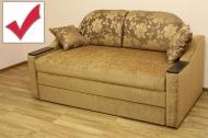 Вояж 1,6 диван в ткани малибу голд и эльдорадо 103